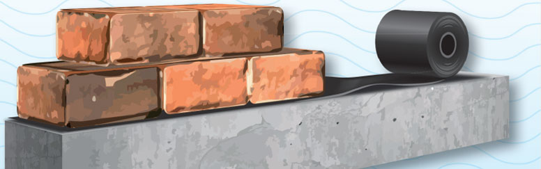 Damp Proof Membrane : Monarflex damp proof course